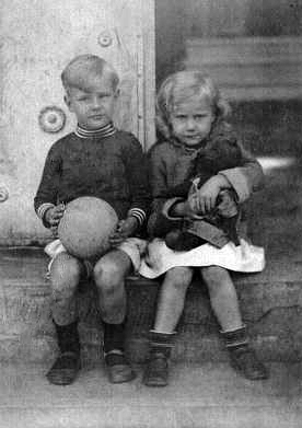 Erico e Elisabeth crianças