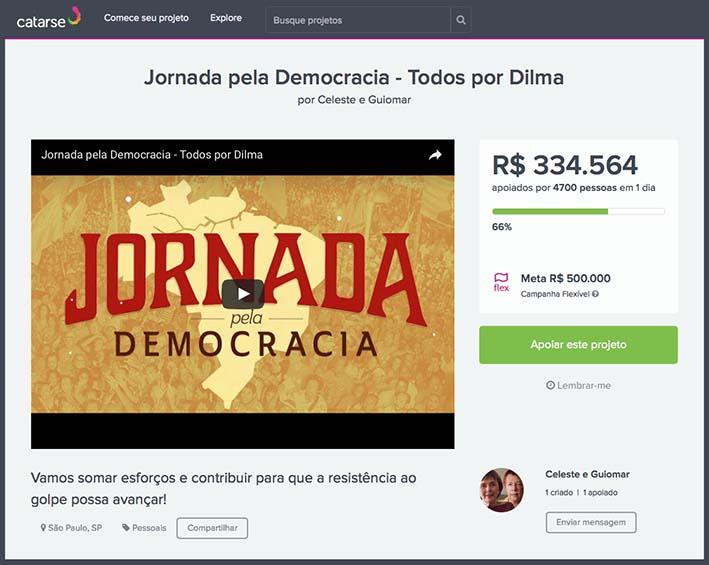crowdfunding dilma