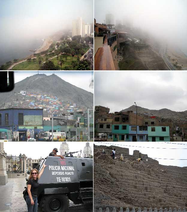 Lima, Peru. Escala obrigatória para quem vai a Machupicchu.