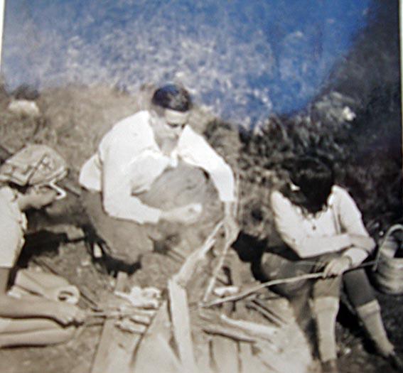 Maria, eu e Ervald Hering