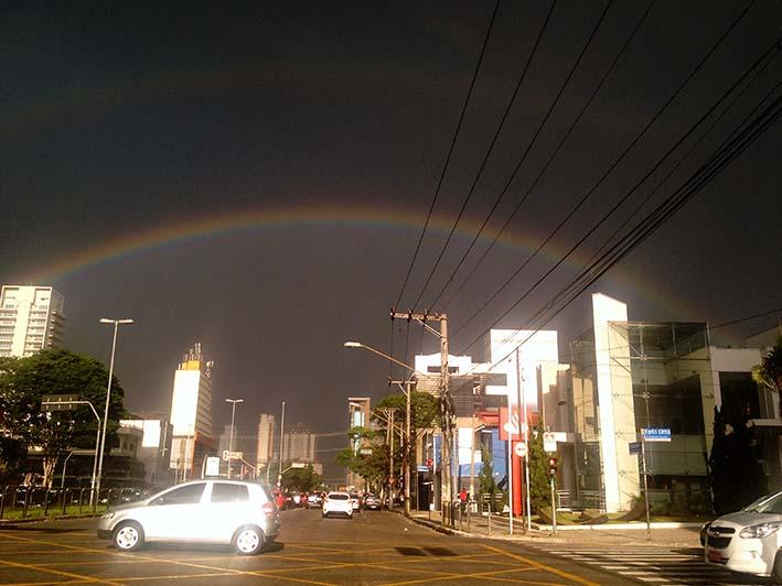temp & rainbow